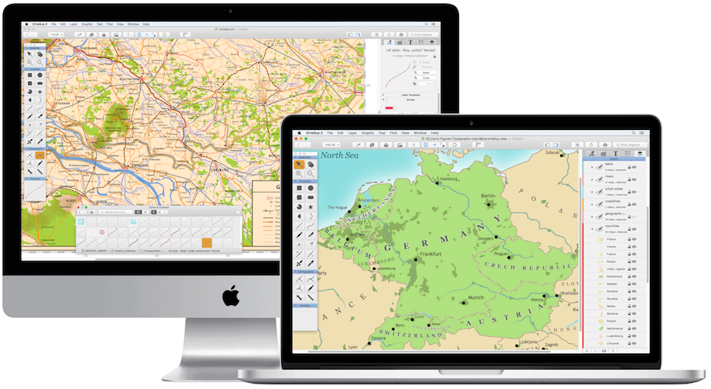 Ortelius map design software for macos jill saligoe simmel phd ortelius is a unique professional creativity app thats a hybrid between a vector drawing program and a geographic information system though ortelius is gumiabroncs Image collections