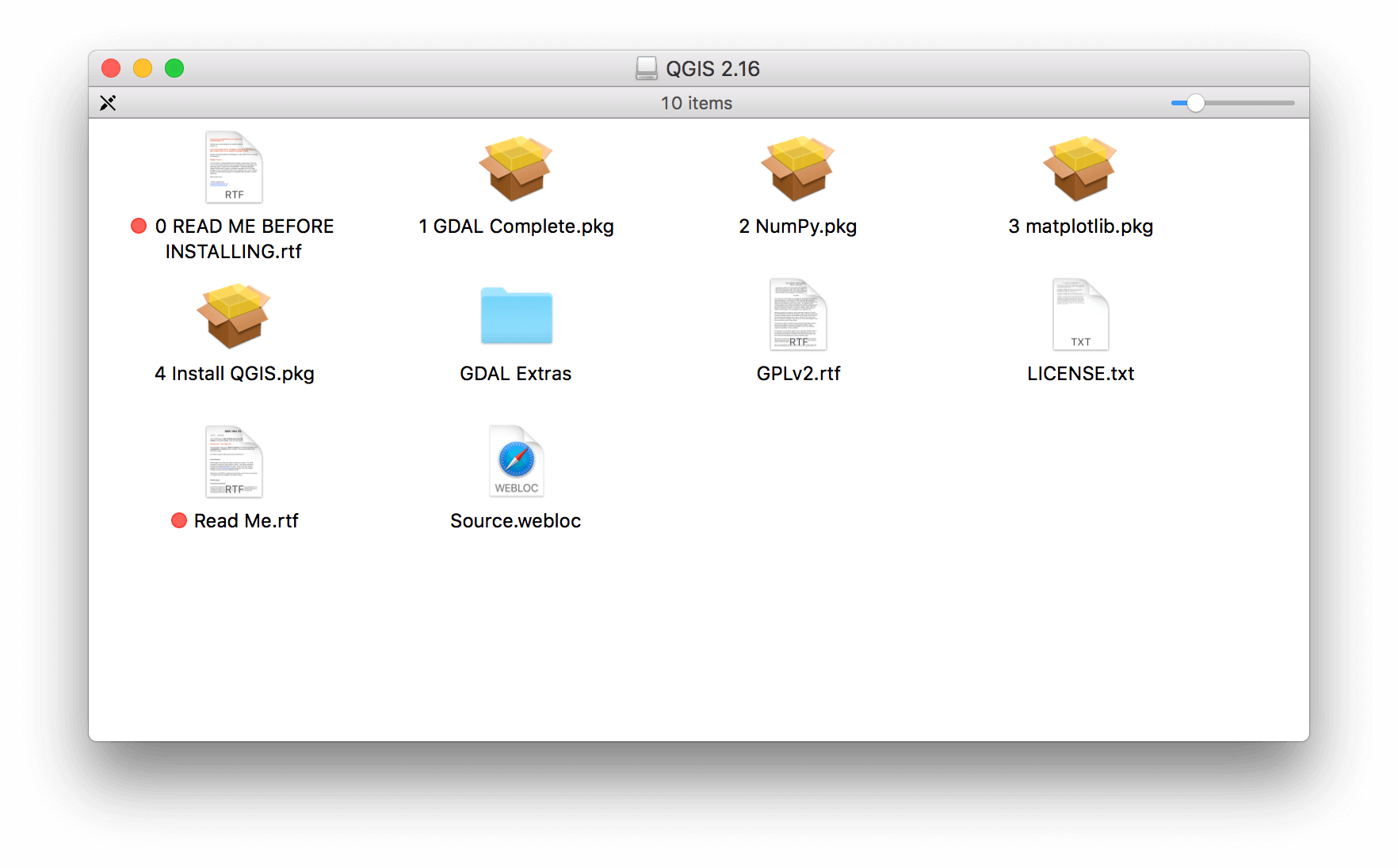 Install QGIS 2 16 on a Mac | Jill Saligoe-Simmel, Ph D